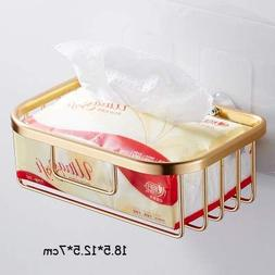 Paper Holders - Suction Cup Hand Carton Toilet Paper Box Tis