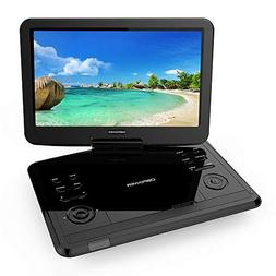 """DBPOWER 12.1"""" Portable DVD Player with Rechargeable Battery,"""