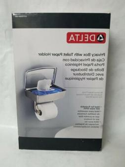 Delta Privacy Box With Toilet Paper Holder Model: EXTEN50-BN