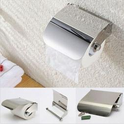 Quality Stainless Steel Toilet Towel Roll Paper Holder Case