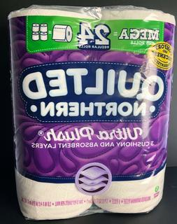 Quilted Northern Ultra Plush Toilet Paper 6 Mega Rolls = 24