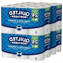 Quilted Northern Ultra Soft & Strong Toilet Paper, 48 Double