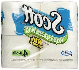 Scott Rapid Dissolve Toilet Tissue