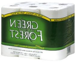 Green Forest Premium 100% Recycled Bathroom Tissue, 352 shee