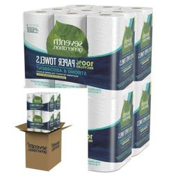 Seventh Generation Paper Towels, 100% Recycled Paper, 2-ply,