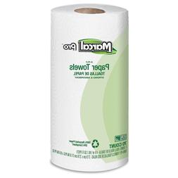 100% Premium Recycled Perforated Towels, 2-Ply, 11x9, White,