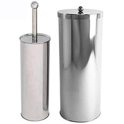 Huji Rust Resistant Stainless Steel Toilet Paper Canister Ho