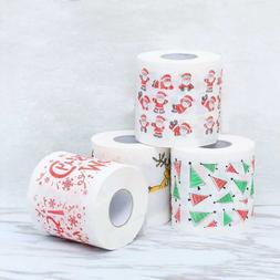 Santa Claus Bath Toilet Paper Towels Christmas Supplies Xmas