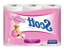SCOT Tissue Paper Extra Soft 6 Roll Multifunction Bathroom T