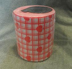 SEALED Vintage Colored Hallmark Toilet Paper Red Hearts Movi
