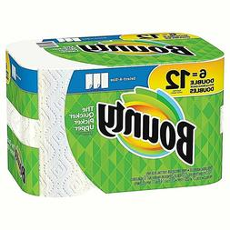 Bounty Select-a-Size Paper Towels, White, 6 Double Rolls = 1