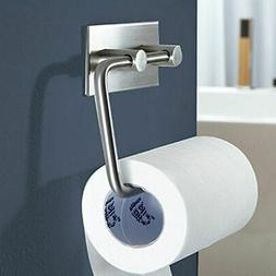 Toilet Paper Holder Bathroom Sticky Hanger Tissue Rack Kitch