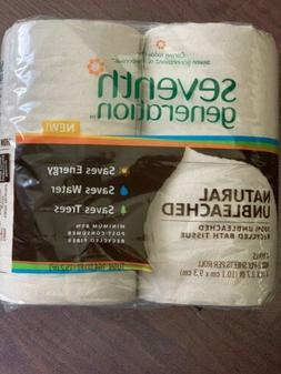 Seventh 7th Generation Toilet Paper 100% Recycled, 4-Pack, 2