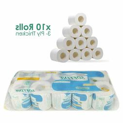 Silky & Smooth 3-Ply Soft Toilet Paper, Strong and Highly Ab