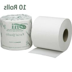 SKILCRAFT Facial Quality Toilet Tissue Paper, 10 Rolls