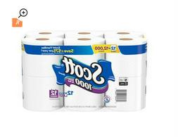 Soft bathroom Scott 1000 Toilet Paper, 12 Rolls, 12,000 Shee