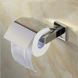 Square Tissue Roll Toilet Paper Holder Cover SUS304 Stainles