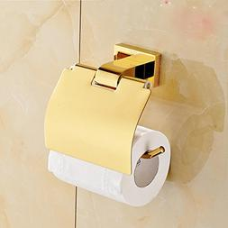 SSBY Copper and gold-plated Towel rack, toilet paper holder,
