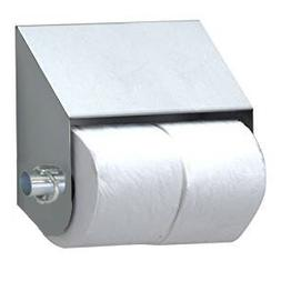 Royce Rolls Stainless Steel Double Roll Slanted Toilet Paper
