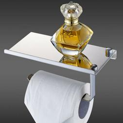 Stainless Steel Wall Mounted Bathroom Toilet Paper Holder Ra