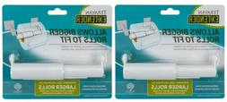 Teravan Standard Extender For Larger Toilet Paper Rolls - Pa