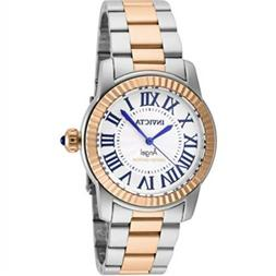Invicta Swiss Womens Angel Rose Gold Plated Limited Edition