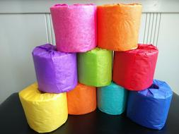 TOILET PAPER 2 PLY -300 SHEETS PER ROLL -12 ROLLS