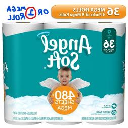 Angel Soft Toilet Paper Double & Mega Rolls, all sizes or  S