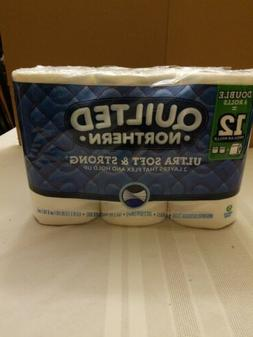 Quilted Northern Toilet Paper 6 Rolls = 12 Ultra Soft And St