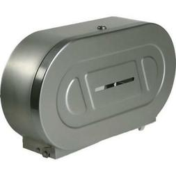 Bobrick Toilet Paper Dispenser Twin Jumbo Roll Satin Finish