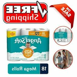 Toilet Paper: High Quality Angel Soft, 18 Mega Rolls 72 Regu