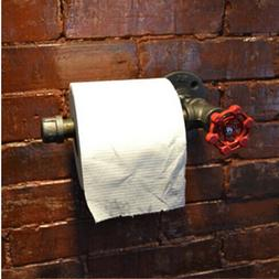 Toilet Paper Holder Industrial Pipe style Accessories Bathro