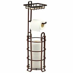 TomCare Toilet Paper Holder Toilet Paper Stand 4Raised Feet
