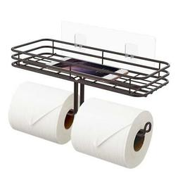 ODesign Toilet Paper Holder with Shelf Tissue Paper Roll Tow