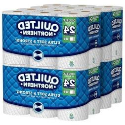 Toilet Paper Roll Bathroom Ultra Soft Strong 2 Ply Bulk Pack