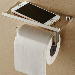 Toilet Paper Roll Holder Wall Mount Stainless Steel Bathroom