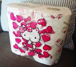 Hello Kitty Toilet Paper Tissue 4 Rolls Pack - Limited Editi