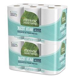 Seventh Generation Toilet Paper, Bath Tissue, 100% Recycled