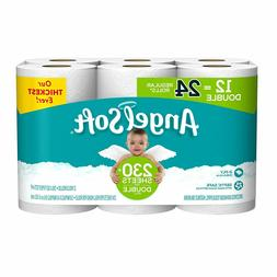 Angel Soft toilet tissue paper 12 double like getting 24 2 p