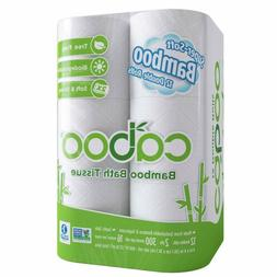 Caboo Tree-Free Bamboo Toilet Paper, Septic Safe Biodegradab