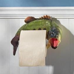Trout Fishing Wall-Mounted Toilet Paper Holder Nature Fish B