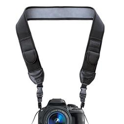 TrueSHOT Camera Strap with Black Neoprene Pattern and Quick