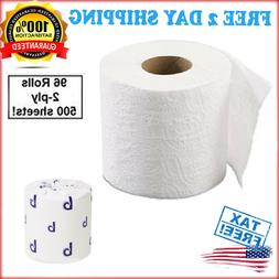 two ply toilet tissue 96 roll case