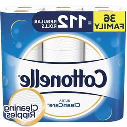 Cottonelle Ultra CleanCare Toilet Paper,Strong Bath Tissue,