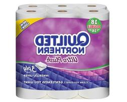 Quilted Northern Ultra Plus Bath Tissue, 18 Double Rolls