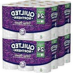 Quilted Northern Ultra Plush Bath Tissue 24 SINGLE ROLLS 48
