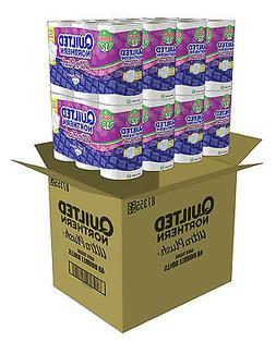 Ultra Plush Bath Tissue Quilted Northern 48 Double Rolls Toi
