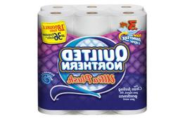 Quilted Northern Ultra Plush Bathroom Tissue, 18 Count