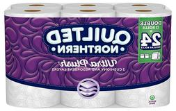 Quilted Northern Ultra Plush Toilet Paper, Pack of 12 Double