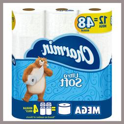 Charmin Ultra Soft 12-Pack Toilet Paper Softest 2-ply Super